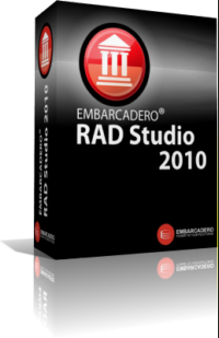 Ключи Embarcadero (CodeGear) RAD Studio 2010 Architect + Delphi Prism 2010